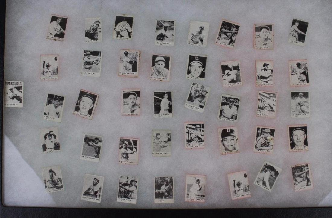 MINIATURE PHOTOS OF OLDER  PLAYERS - LOT OF 41