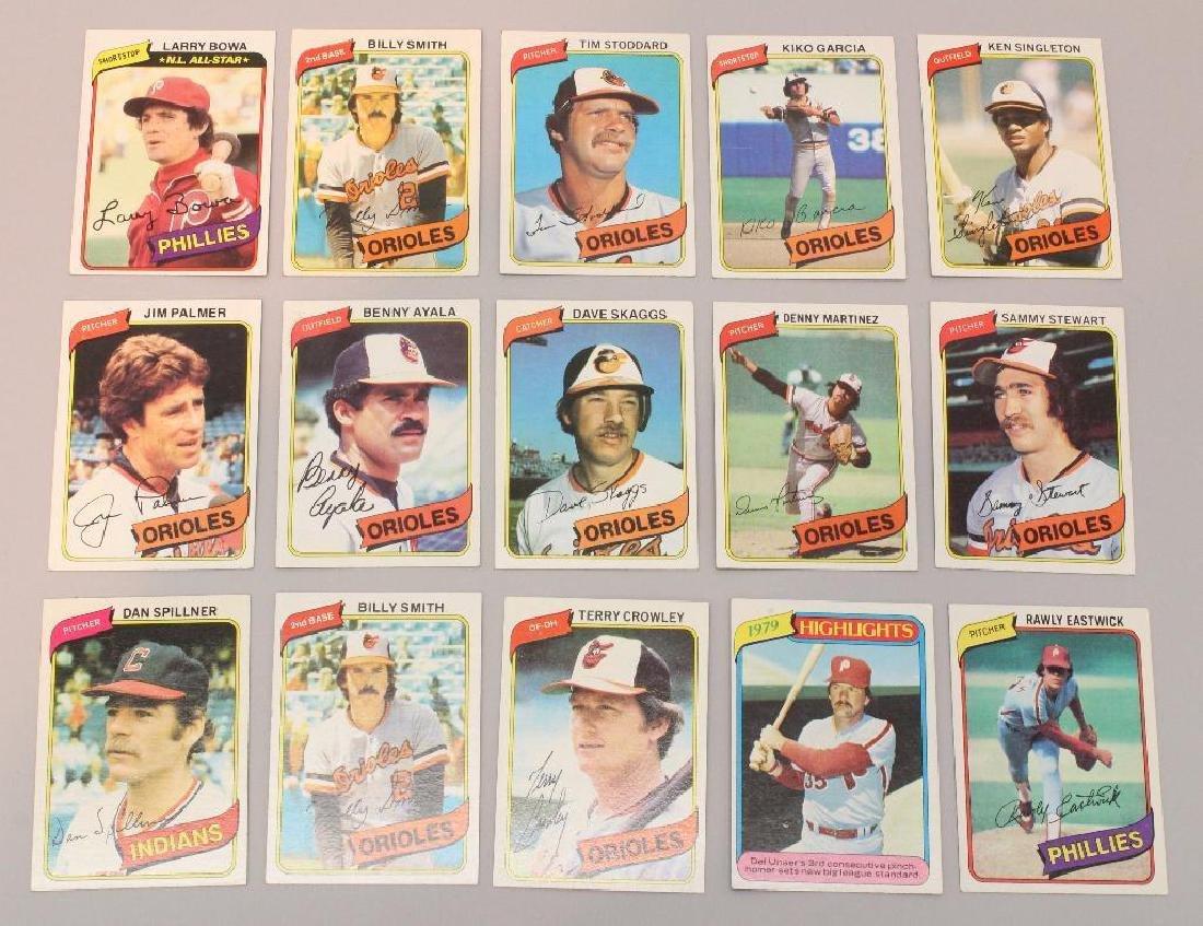 BASEBALL CARDS  1980 - TOPPS