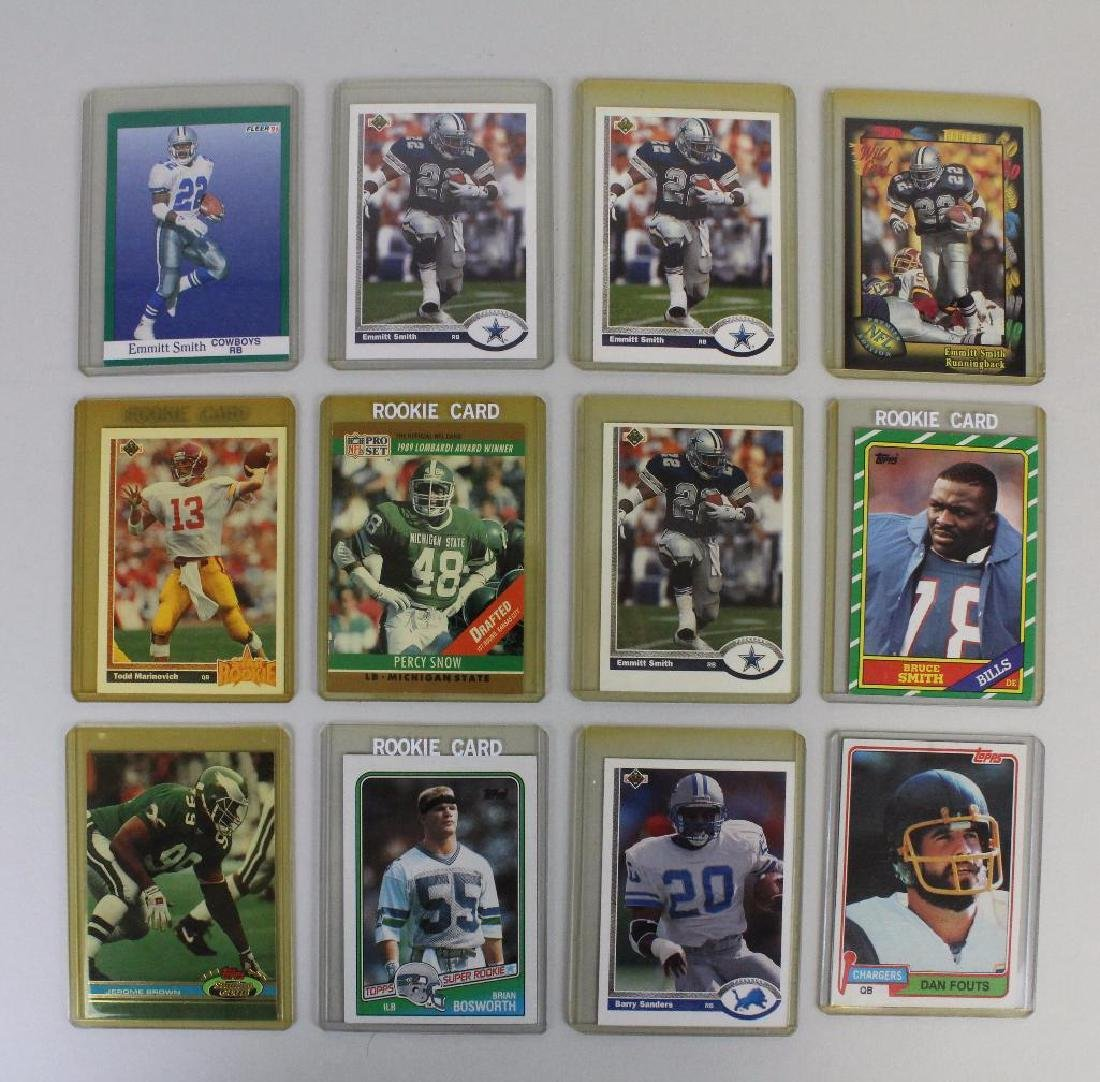 FOOTBALL CARDS 1990'S LOT