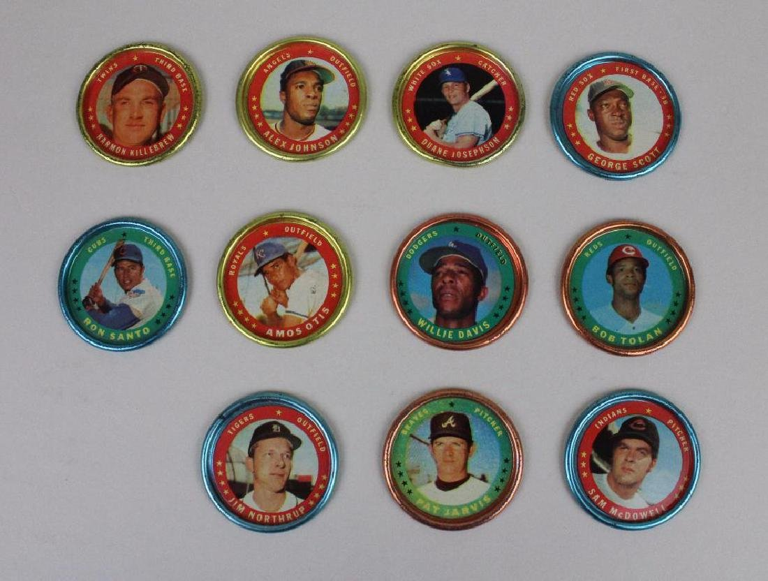 BASEBALL COINS T.C.G. - LOT 11