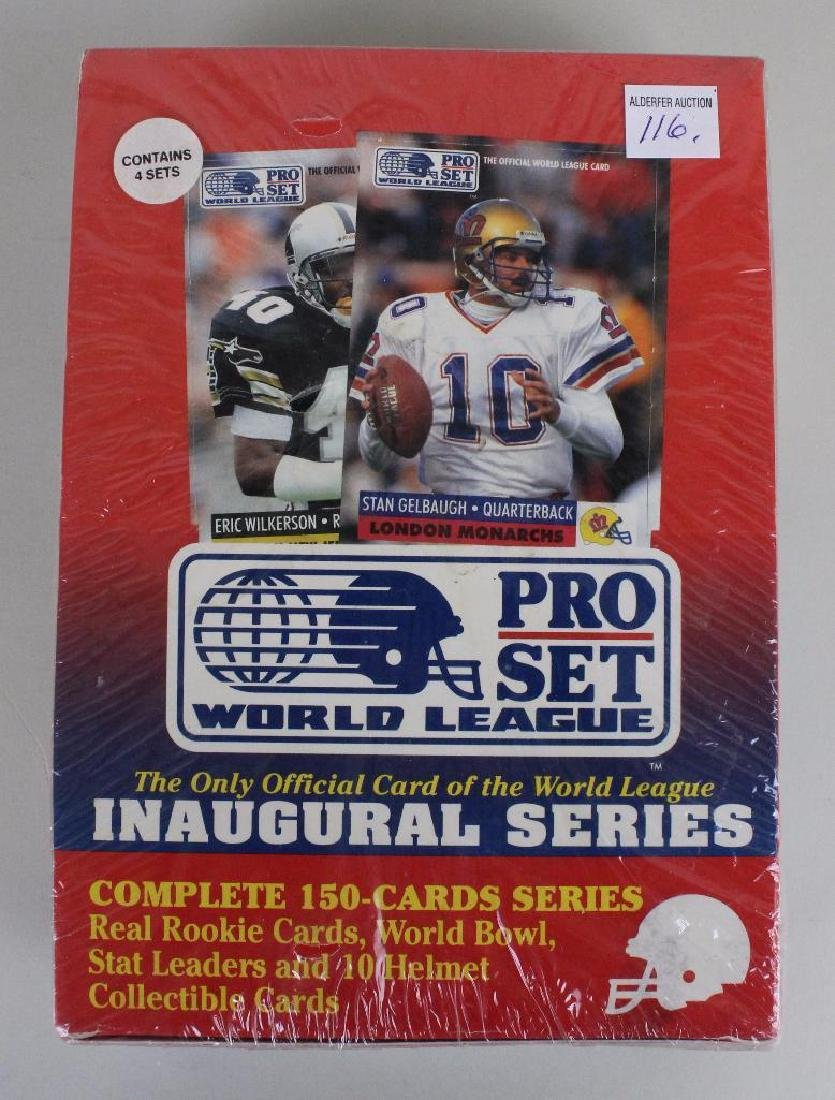 4 SETS OF PRO FOOTBALL CARDS