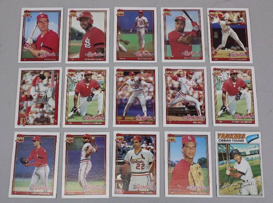 BASEBALL CARDS 1979, 80'S & 90'S