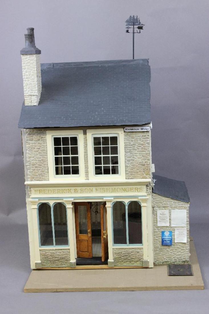 Frederick & Son Fishmongers Dollhouse