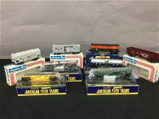 """American Flyer trains 3/16"""" scale & S guage."""