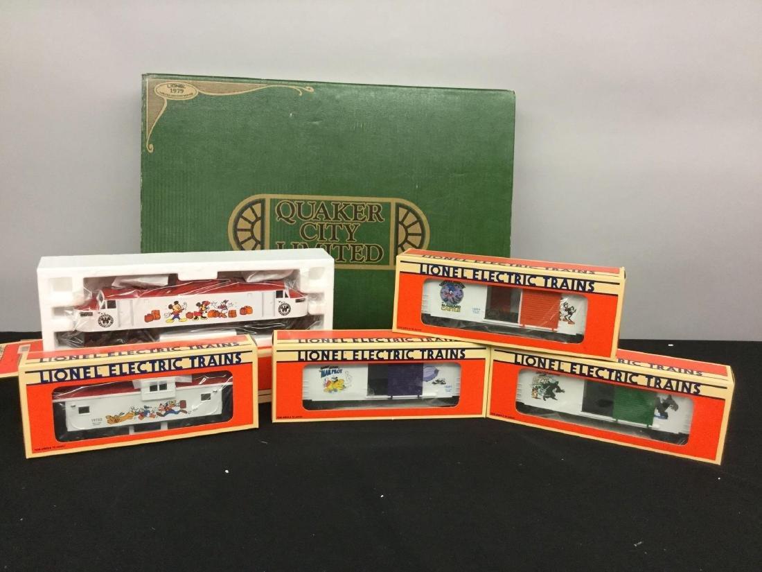 Lionel Walt Disney Train Set of (5)