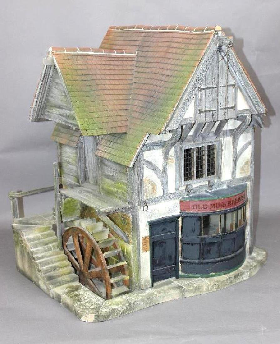 """Vic Newey """"The Old Mill"""" Brewery Dollhouse"""