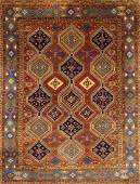 Persian Hand Woven Wool Room Size Rug