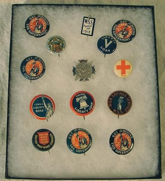 1015: US WWI Militaria