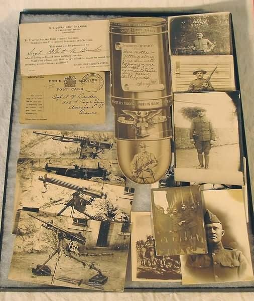 1020: US WWI Militaria