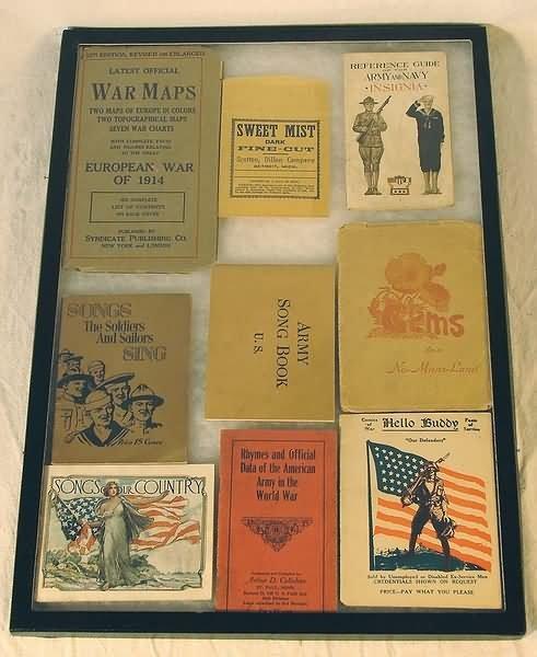 1022: US WWI Militaria