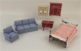LOT OF  MIB CONTEMPORARY DOLLHOUSE FURNITURE