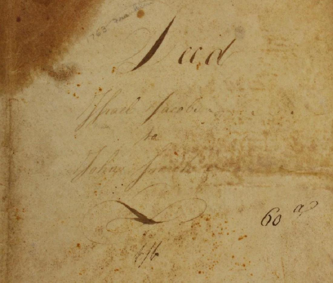 Autograph of Benjamin Franklin - 3