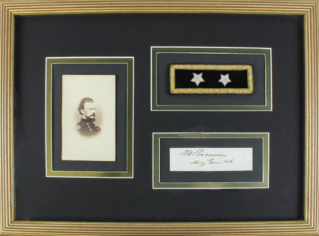 Civil War General Henry Warner Slocum Autograph