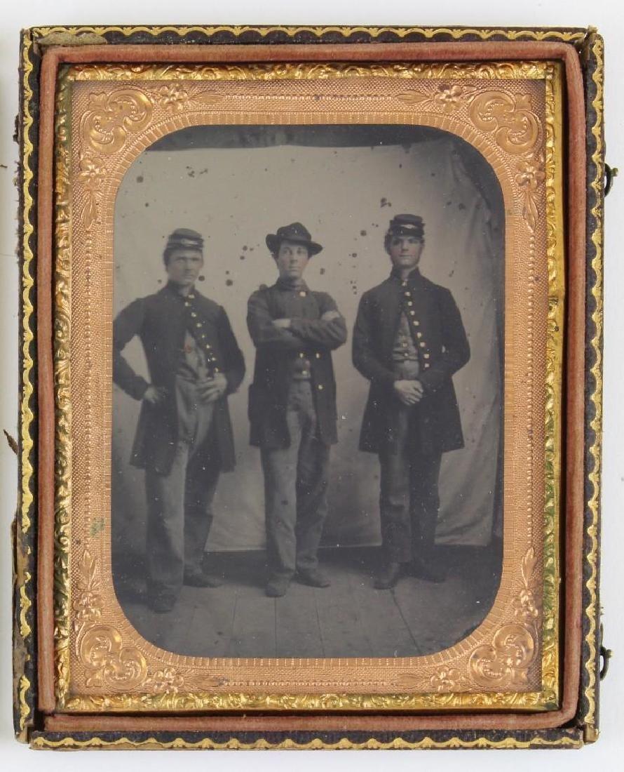 Tintype of Civil War Soldiers