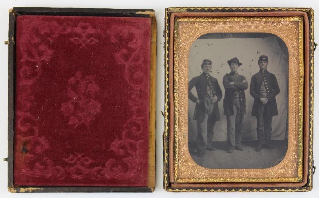 Tintype of Civil War Soldiers - 2