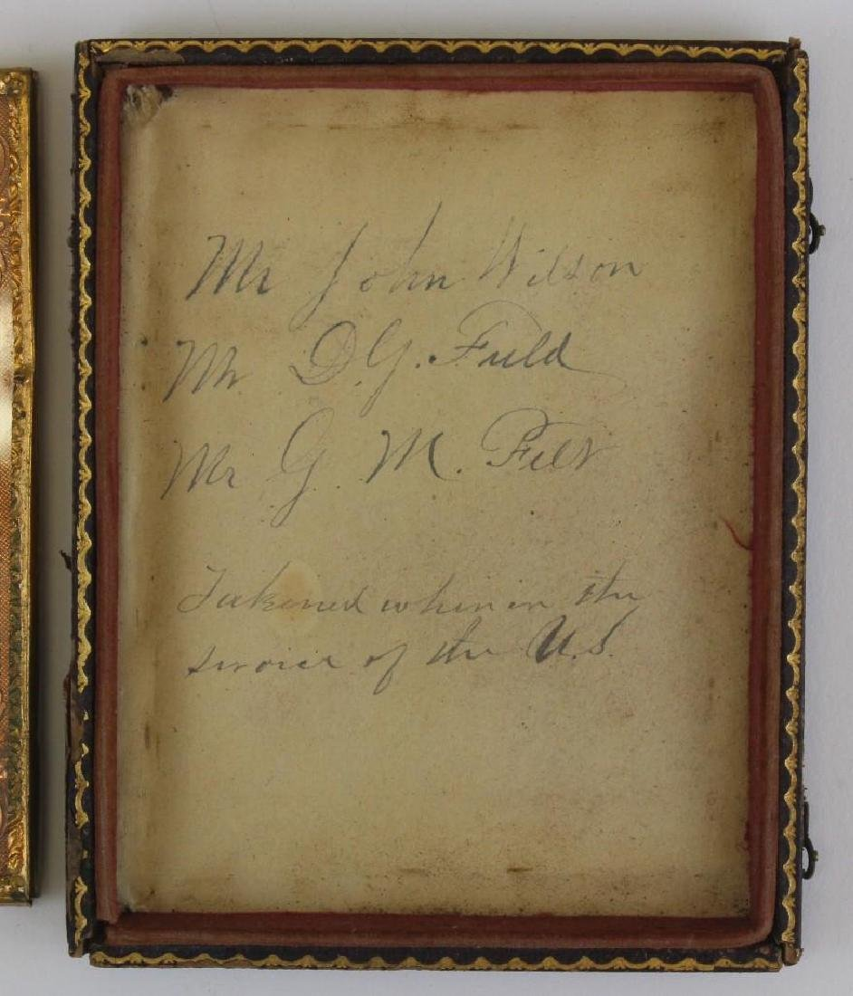 Tintype of Civil War Soldiers - 3