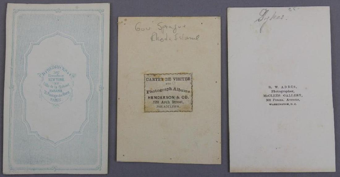 Grouping of CDV's of Civil War Generals and Civil War - 2