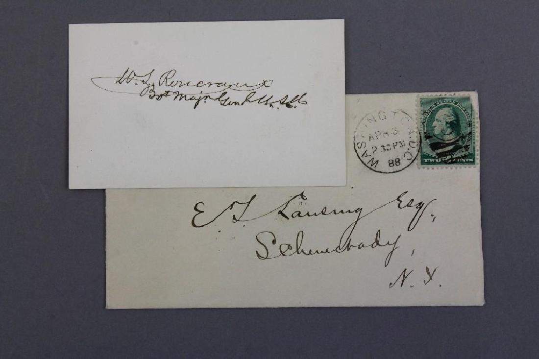 Autographs of Civil War Generals Webb, Gregg, and - 4