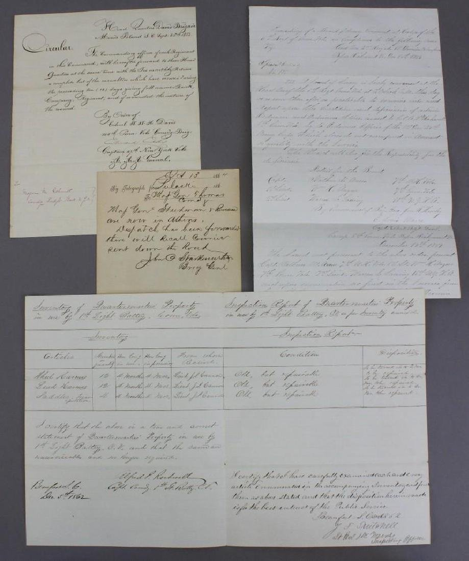 Civil War Documents