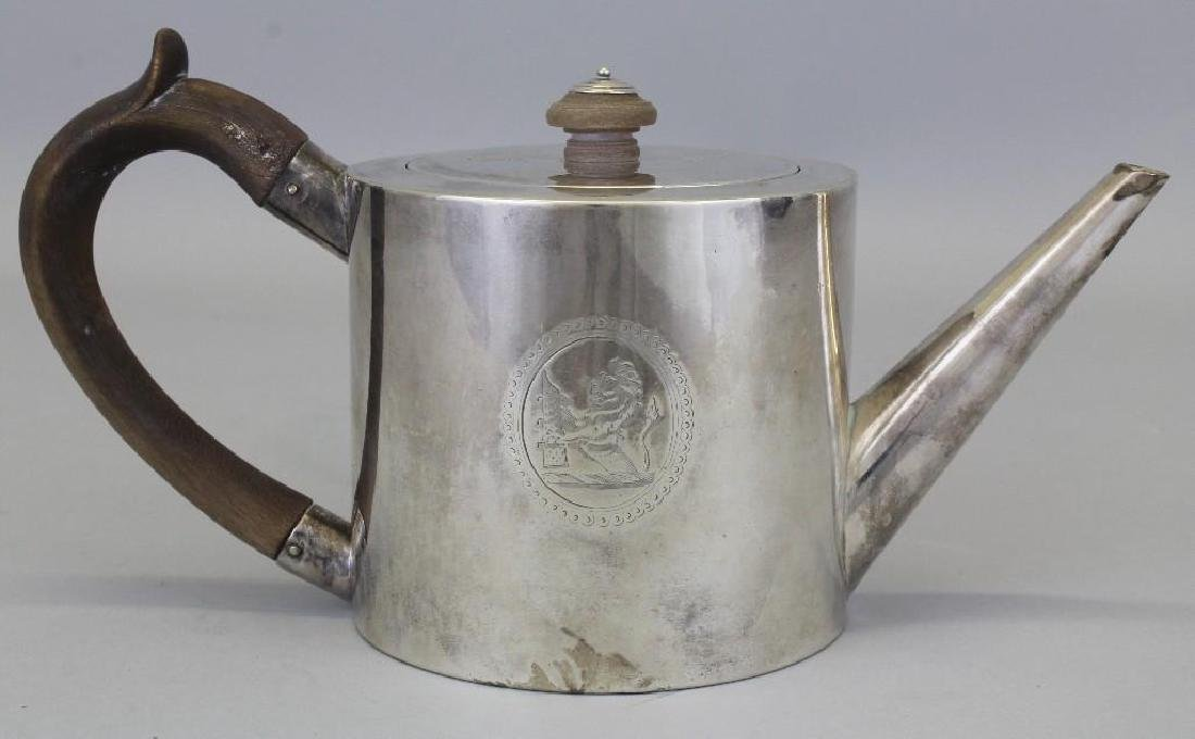 Robert Makepeace & Richard Carter, Sterling Silver Tea