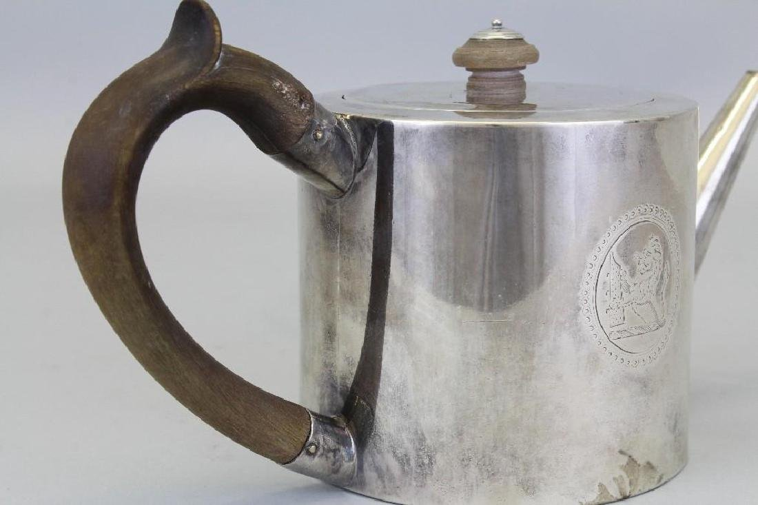 Robert Makepeace & Richard Carter, Sterling Silver Tea - 6
