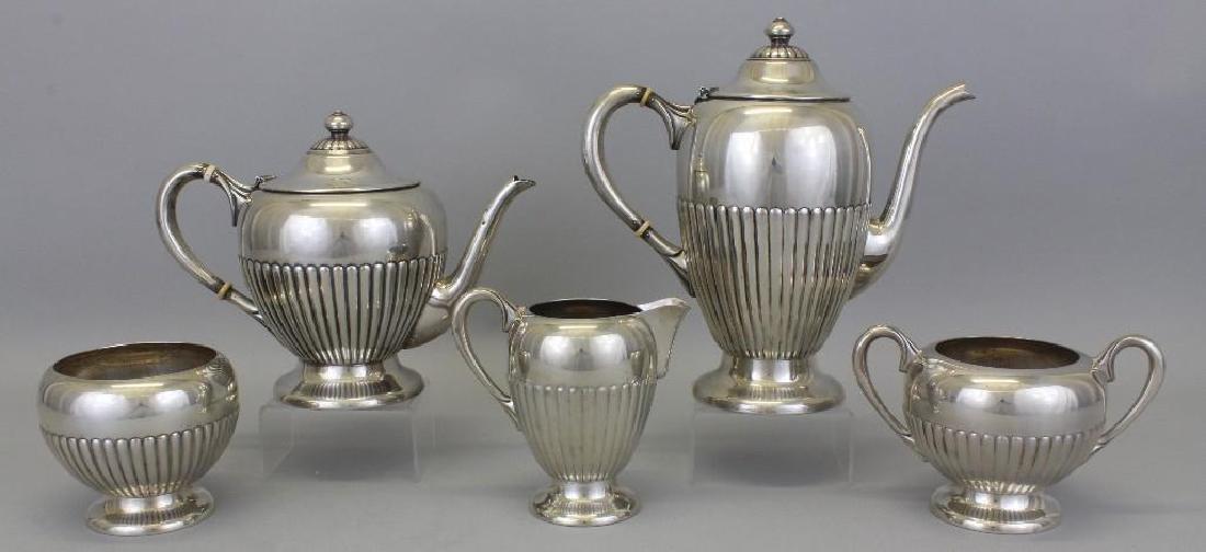 Dunkirk, Sterling Silver Tea Set