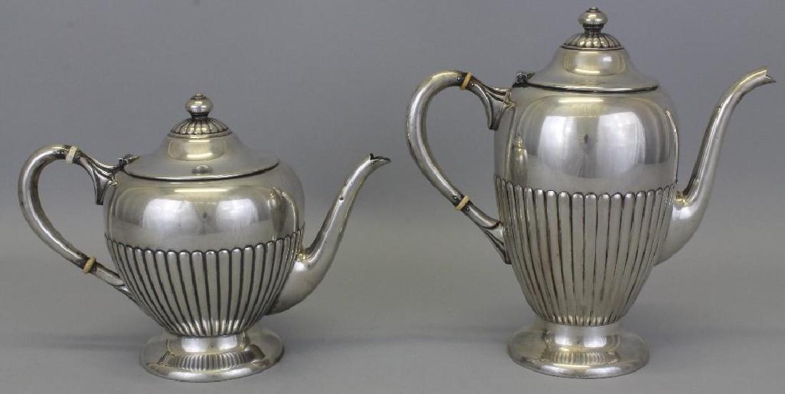 Dunkirk, Sterling Silver Tea Set - 2