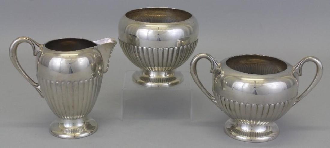 Dunkirk, Sterling Silver Tea Set - 3