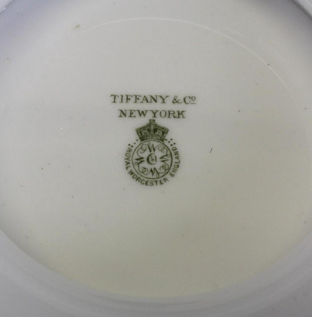 "Royal Worcester ""Royal Lily"" for Tiffany, Demitasse Set - 7"