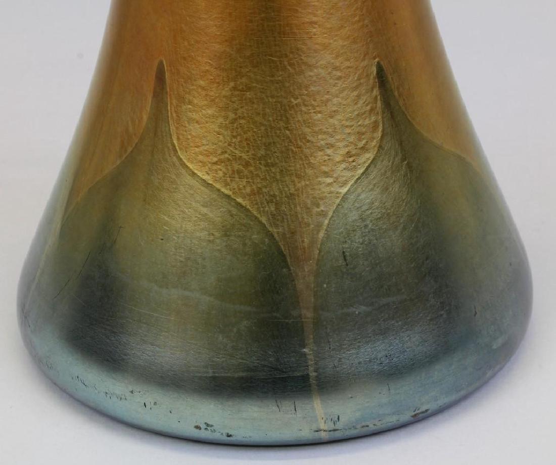 "19"" L.C. Tiffany Fauvile Vase - 3"