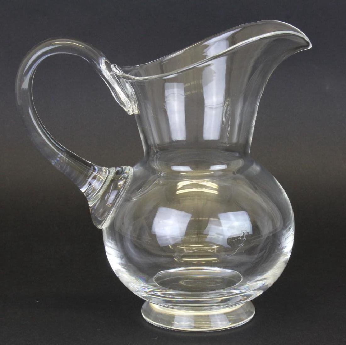 Steuben, Dreves, Crystal Water Pitcher