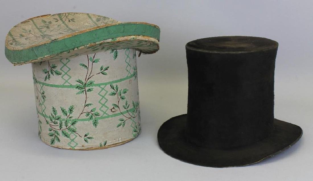 Top Hat Box with Hat