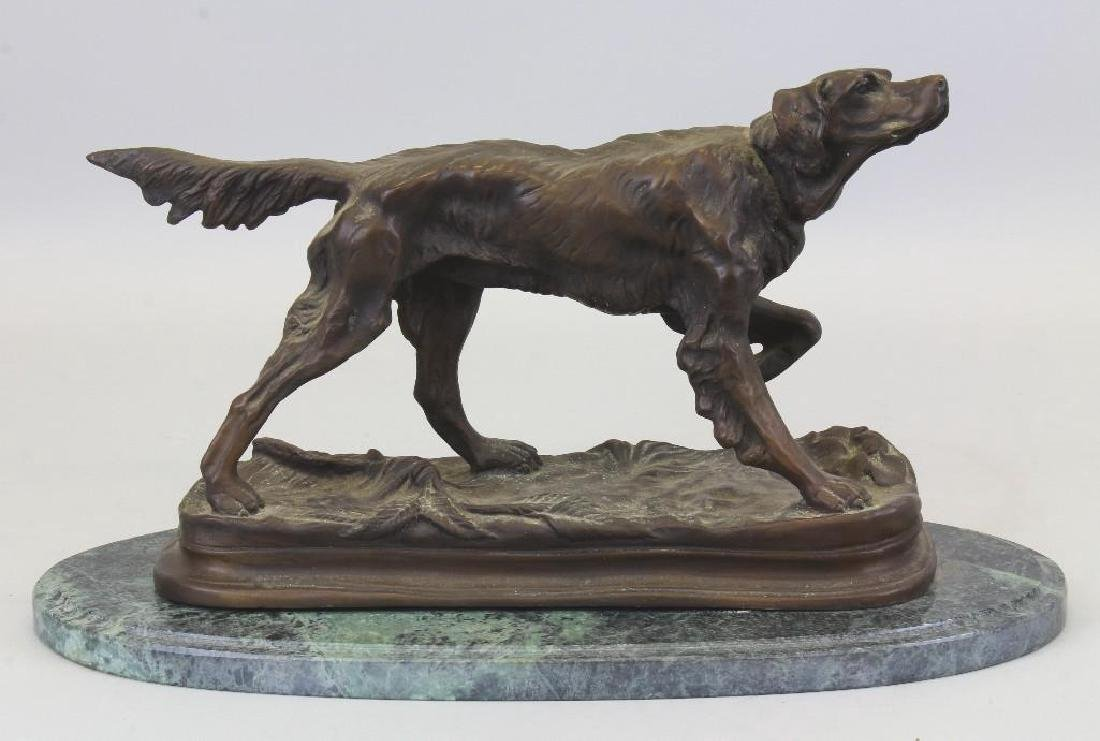 Jules Moigniez (1835-1894, France) Canine Sculpture