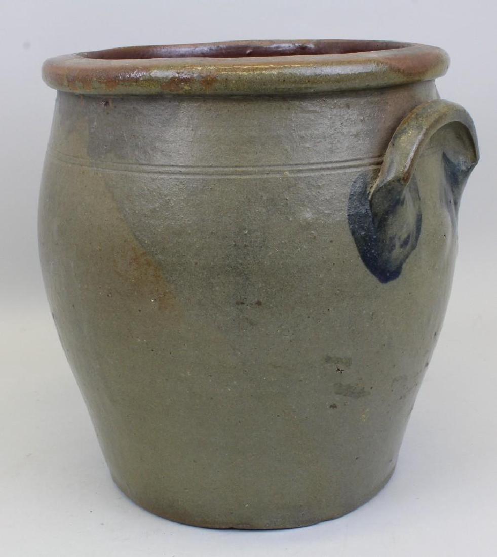 Stoneware, R. W. Russell. 3 Gallon Crock - 4