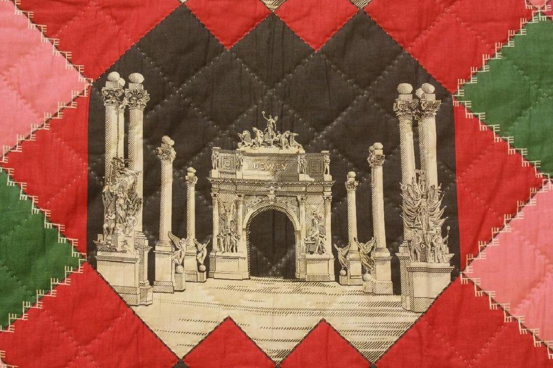 Whole Cloth, Admiral Dewey Commemorative, c.1898 - 2