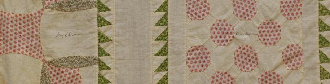 Pieced and Applique Quilt Top, Presentation Album. - 3