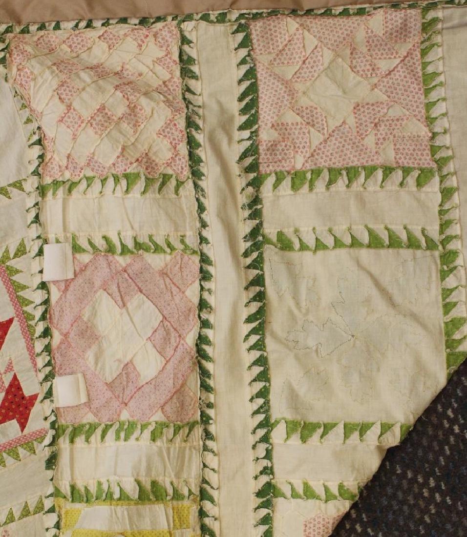 Pieced and Applique Quilt Top, Presentation Album. - 5