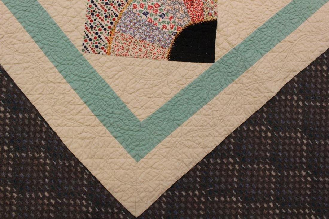 Pieced and Applique Quilt, Sampler, Illinois, c. 1940 - 5