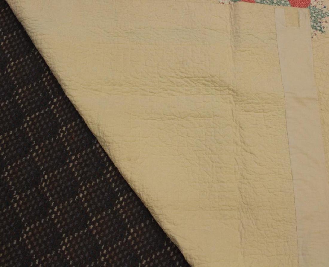 Pieced and Applique Quilt, Sampler, Illinois, c. 1940 - 6