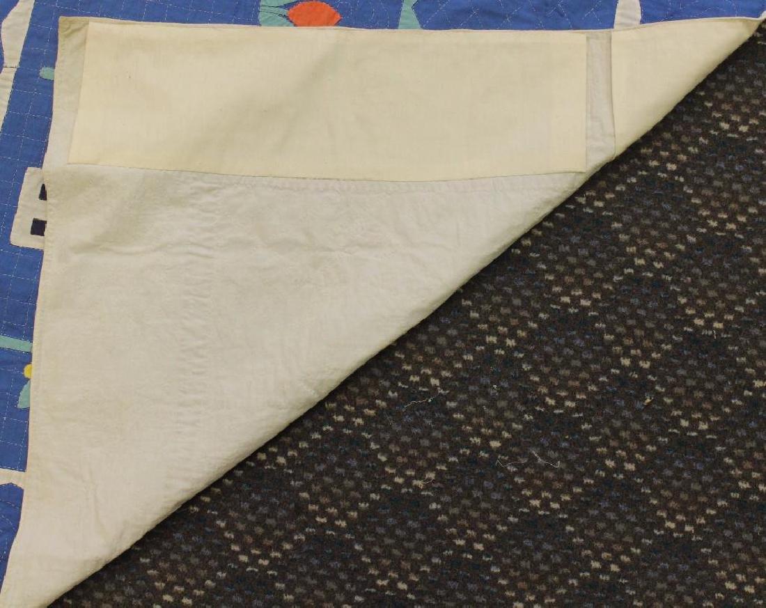 Pair of Applique Child's Quilt, Dutch Theme, Ohio, - 7