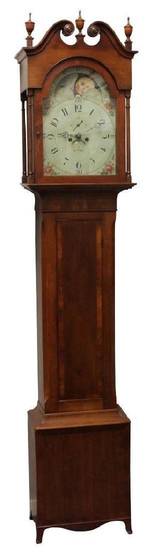 Robert D Guthrie, Chester County, PA, Tall Case Clock