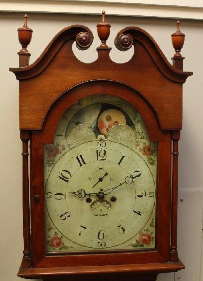 Robert D Guthrie, Chester County, PA, Tall Case Clock - 2