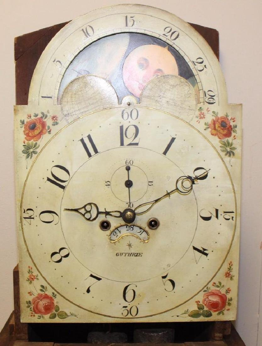 Robert D Guthrie, Chester County, PA, Tall Case Clock - 3