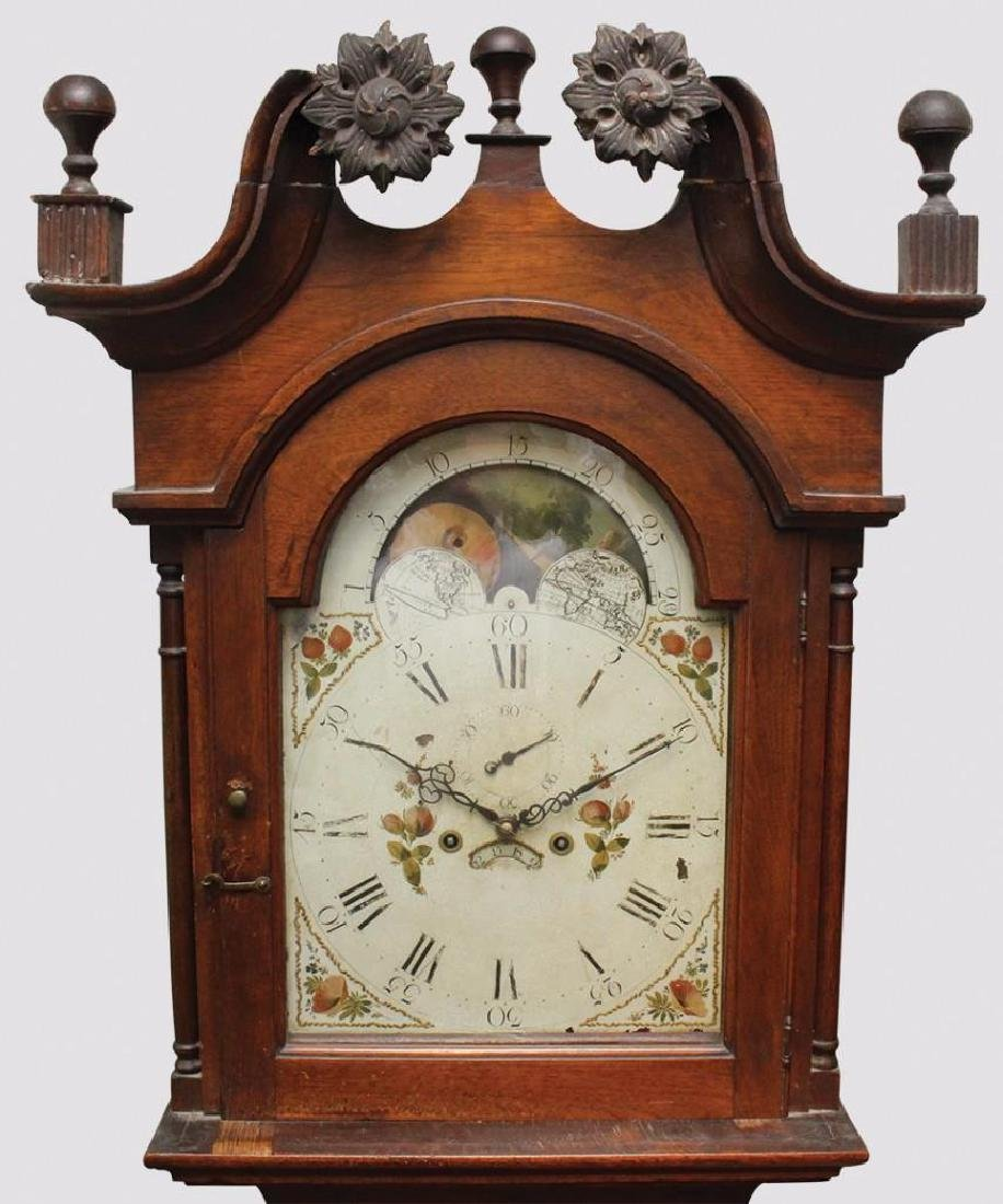 1839 Lowry Richards Tall Case Clock, Unsigned - 2