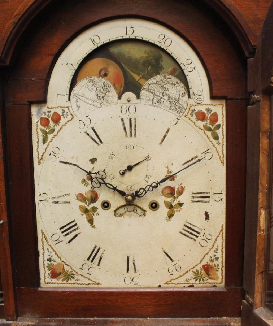 1839 Lowry Richards Tall Case Clock, Unsigned - 3