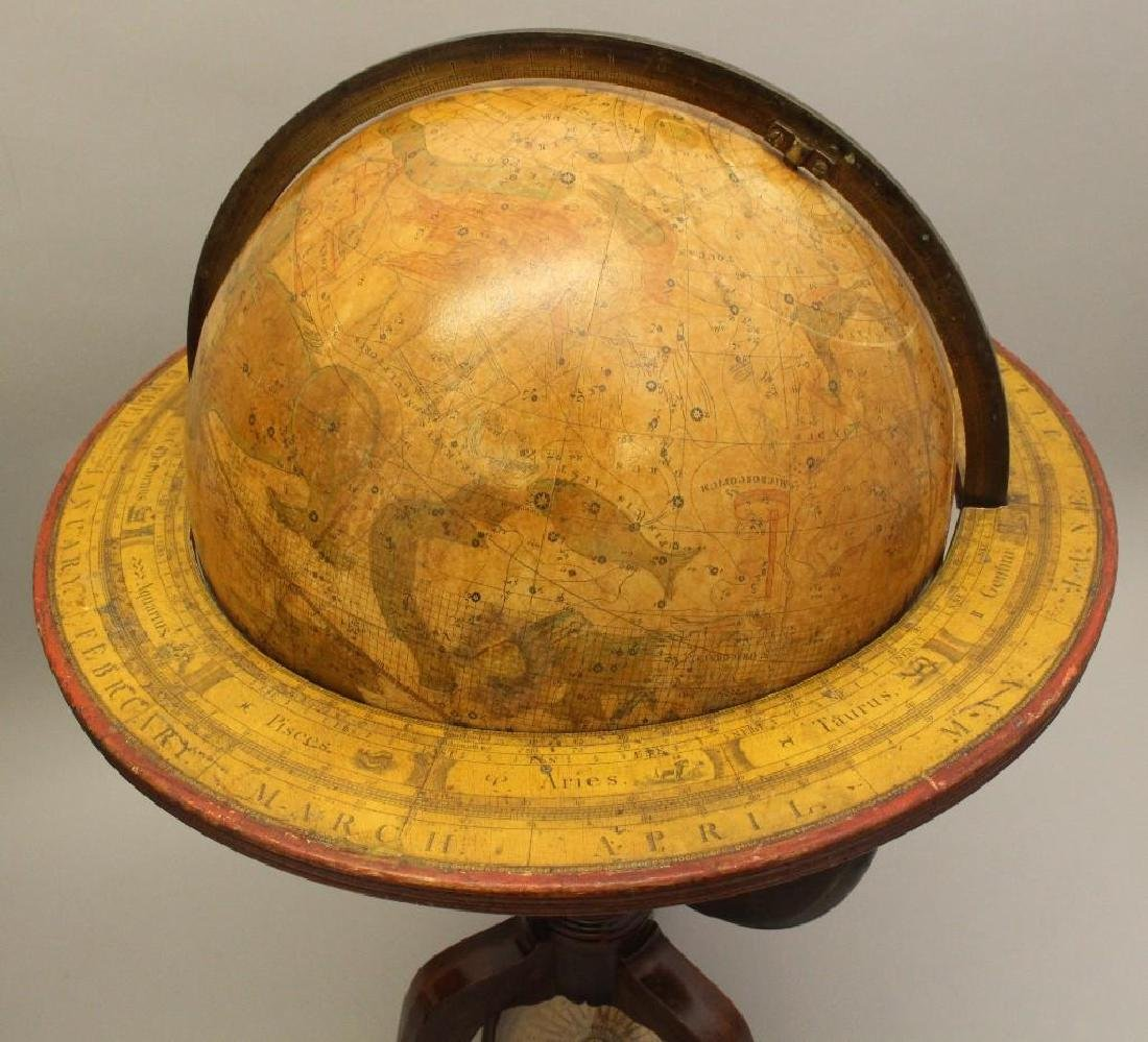 Pair of Early 19th c, Terrestrial Globes by Bardin, - 9