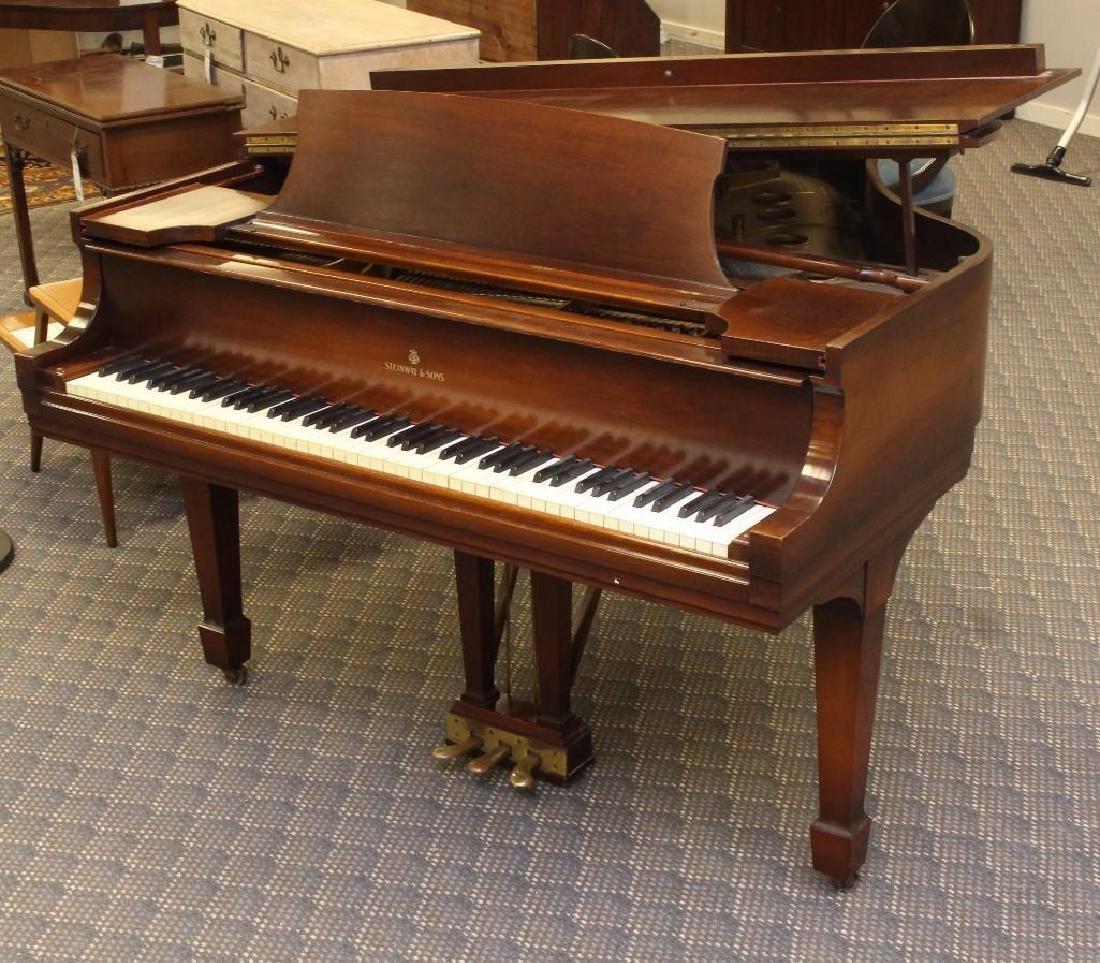 Steinway Baby Grand Piano - 3