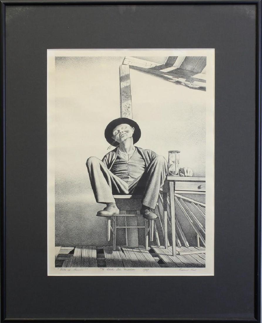 "Rockwell Kent (1882-1971, New York) ""Wake up America"""
