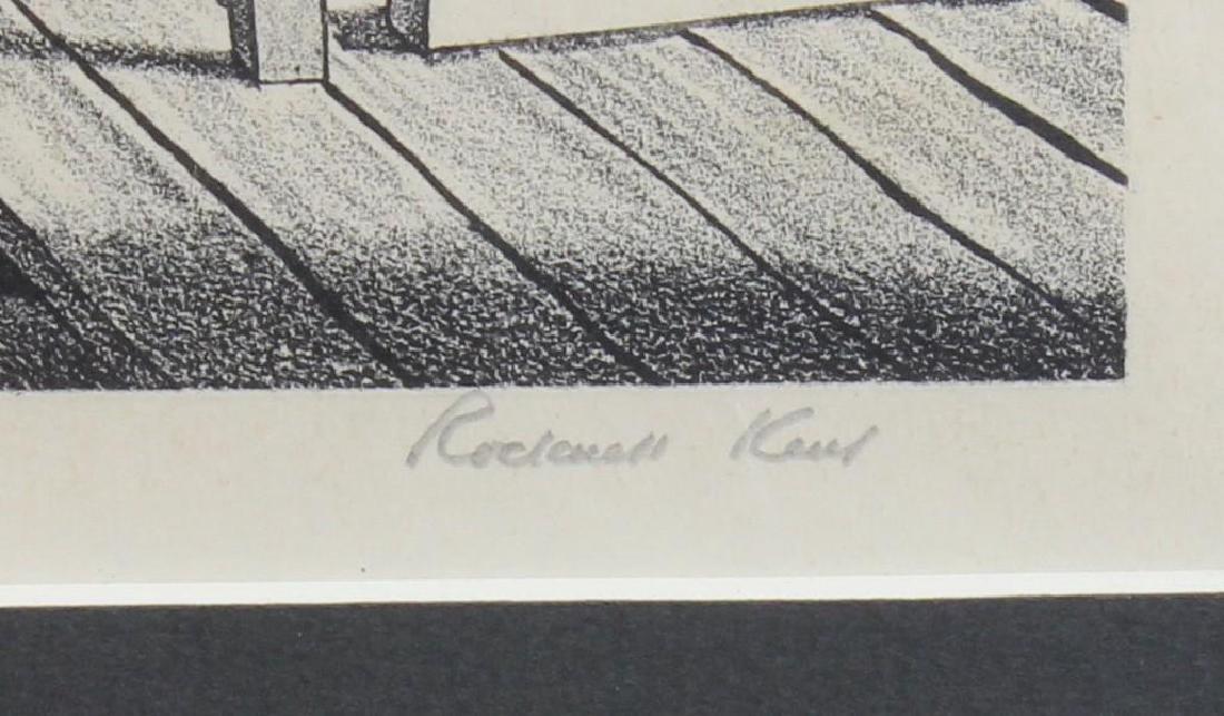 "Rockwell Kent (1882-1971, New York) ""Wake up America"" - 2"