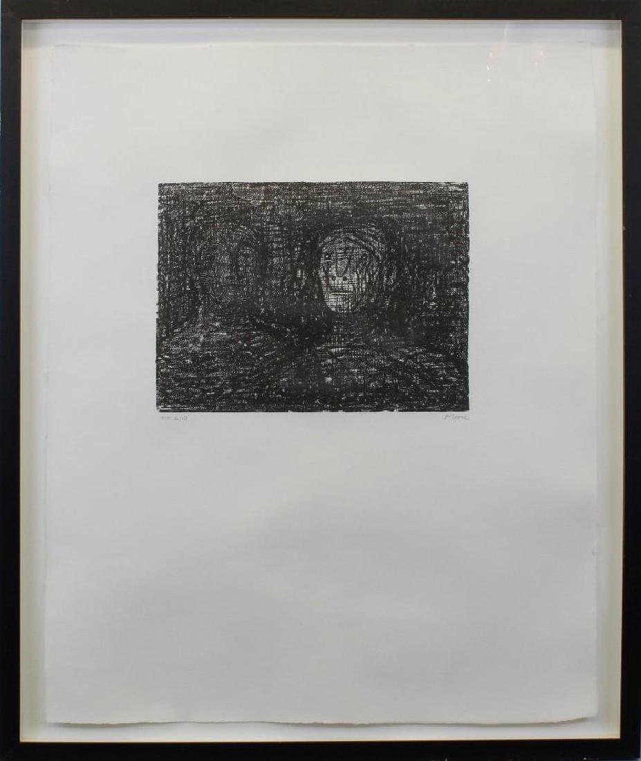 "Henry Spencer Moore (1898-1986, United Kingdom) ""Two"